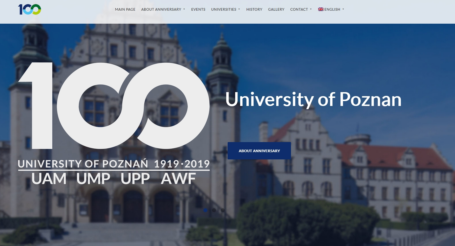 100 Anniversary of Poznan University