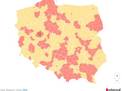 Red Zone in Poznań County from October 17