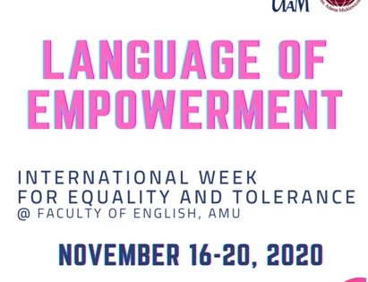 Language of Empowerment-online series from Nov.16
