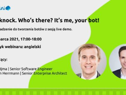 Knockknock.Who's there? It's me, your bot!