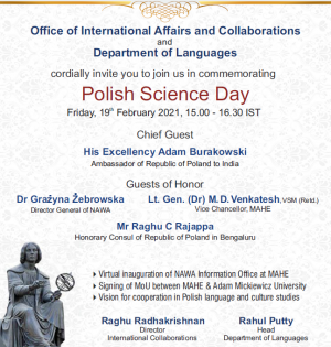 AMU in Polish Science Day in India