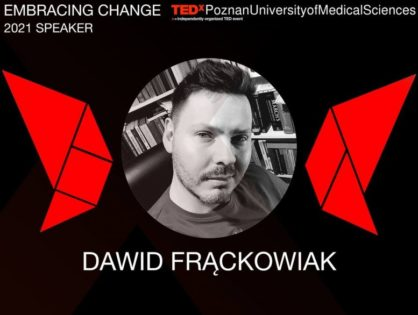 Dr Dawid Frąckowiak to speak at a TEDx event May 16th