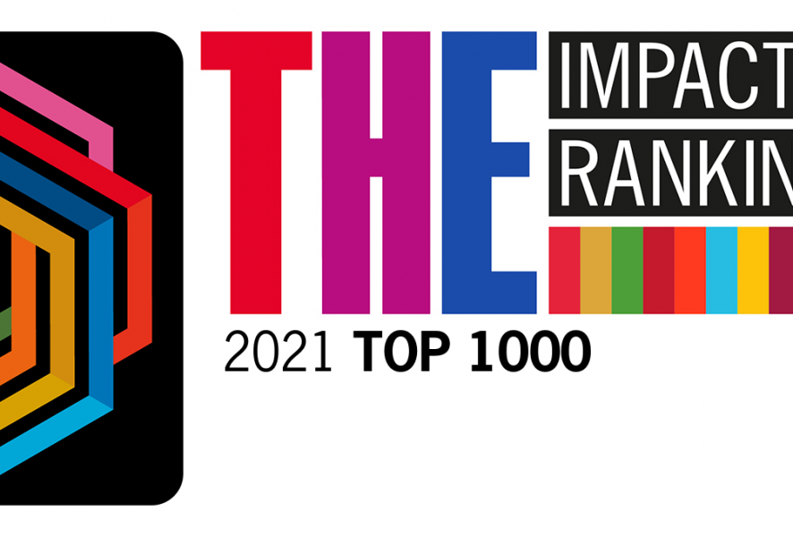 Our position in THE Ranking 2021 goes up!