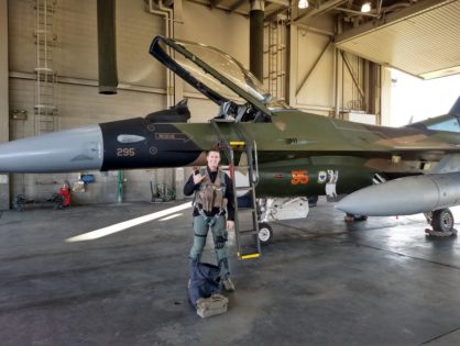 American Fighter Pilot starts his PhD at AMU