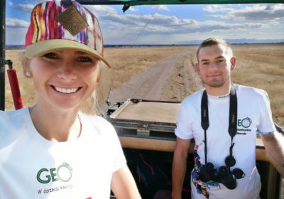 Students explore the savannas of Tanzania during GEOpractice Expedition